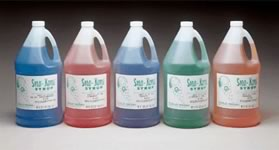 Snow Cone Syrup in the Victoria Texas area.