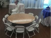 Children's Tables Rentals in the Victoria Texas area.