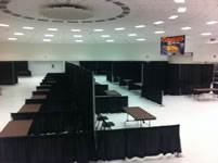 Partitions Rentals in the Victoria Texas area.