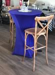 30 inch top Cocktail Table Rentals in the Victoria Texas area.