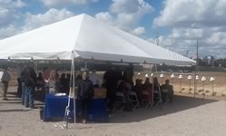 Frame Tent Rentals in the Victoria Texas area.