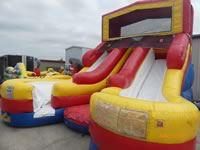 Double Lane Water Slide Rentals in the Victoria Texas area.